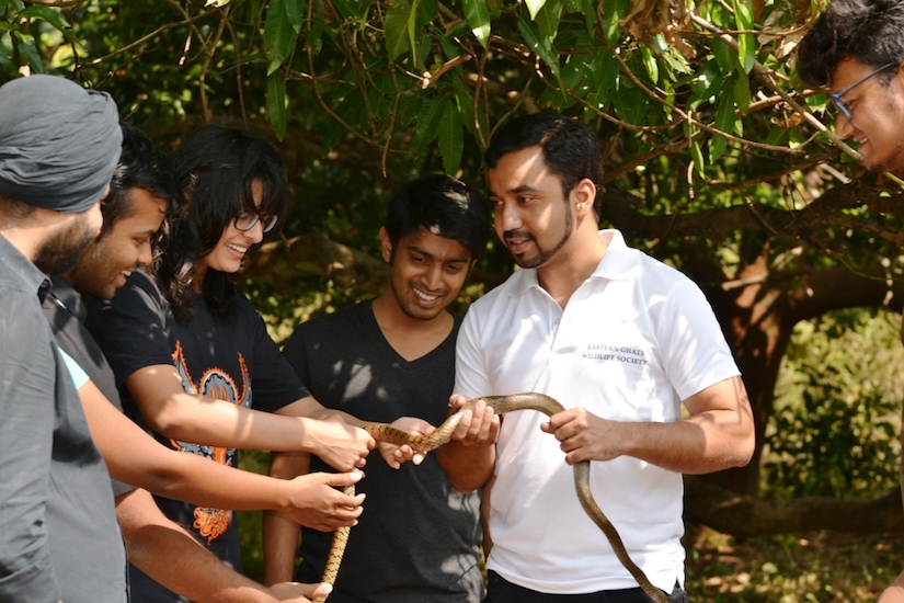 Save The Snakes Co-founder Murthy Kantimahanti Featured in The Times OfIndia